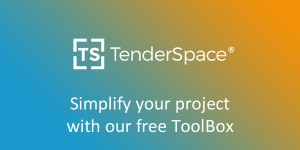 TenderSpace Logo and quote