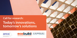 Ecobuild Call for Research image