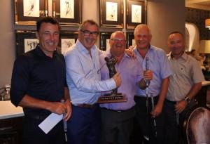 RGB golf day 2017 winning team