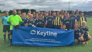Keyline Motherwell Charity Cup teams